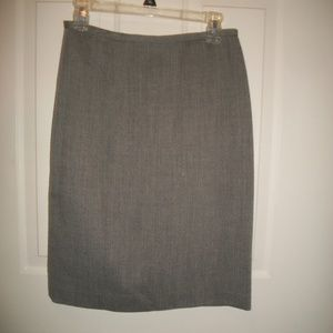 Talbot's worsted wool pencil skirt 8P